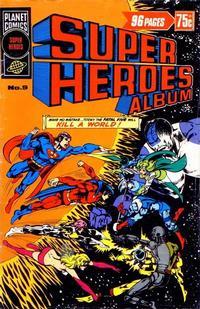 Cover Thumbnail for Super Heroes Album (K. G. Murray, 1976 series) #9