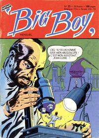 Cover Thumbnail for Big Boy (Arédit-Artima, 1956 series) #23