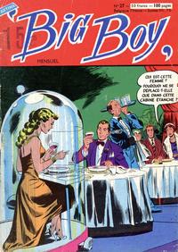 Cover Thumbnail for Big Boy (Arédit-Artima, 1956 series) #27