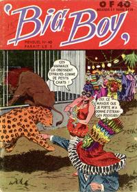 Cover Thumbnail for Big Boy (Arédit-Artima, 1956 series) #40