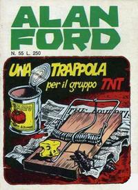 Cover Thumbnail for Alan Ford (Editoriale Corno, 1969 series) #55