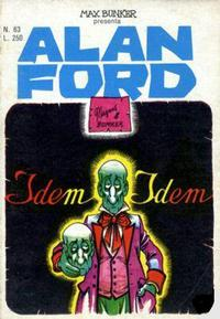 Cover Thumbnail for Alan Ford (Editoriale Corno, 1969 series) #63