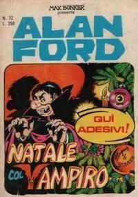 Cover for Alan Ford (Editoriale Corno, 1969 series) #72