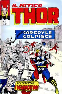 Cover Thumbnail for Il Mitico Thor (Editoriale Corno, 1971 series) #12
