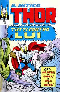 Cover Thumbnail for Il Mitico Thor (Editoriale Corno, 1971 series) #15