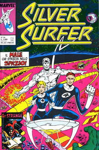 Cover Thumbnail for Silver Surfer (Play Press, 1989 series) #16