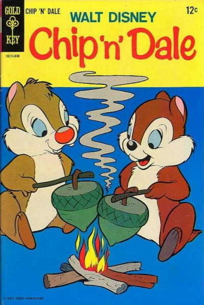 Cover for Walt Disney Chip 'n' Dale (Western, 1967 series) #2