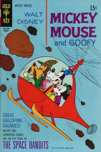 Cover for Mickey Mouse (Western, 1962 series) #126