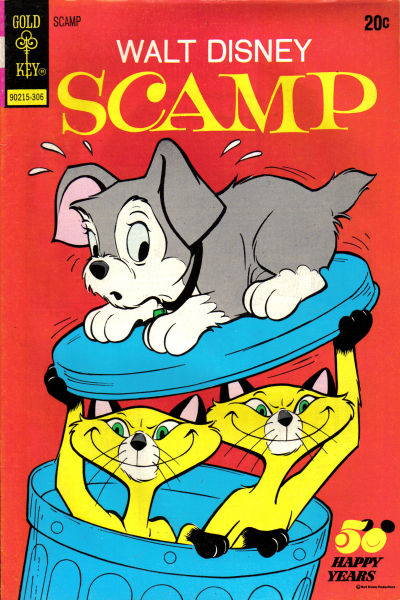 Cover for Walt Disney Scamp (Western, 1967 series) #11