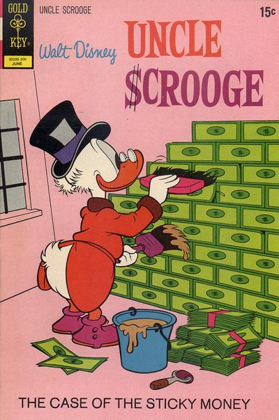 Cover for Uncle Scrooge (Western, 1963 series) #99 [Whitman Variant]