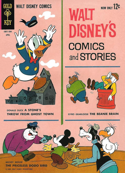 Cover for Walt Disney's Comics and Stories (Western, 1962 series) #v23#7 (271)