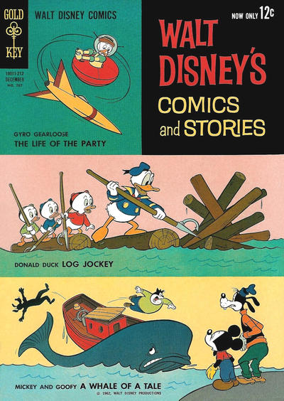 Cover for Walt Disney's Comics and Stories (Western, 1962 series) #v23#3 (267)