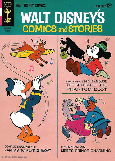 Cover for Walt Disney's Comics and Stories (Western, 1962 series) #v24#11 (287)
