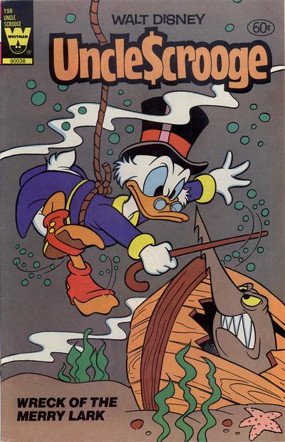 Cover for Uncle Scrooge (Western, 1963 series) #198