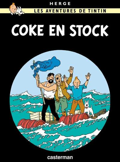 Cover for Les Aventures de Tintin (Casterman, 1934 series) #19 - Coke en Stock