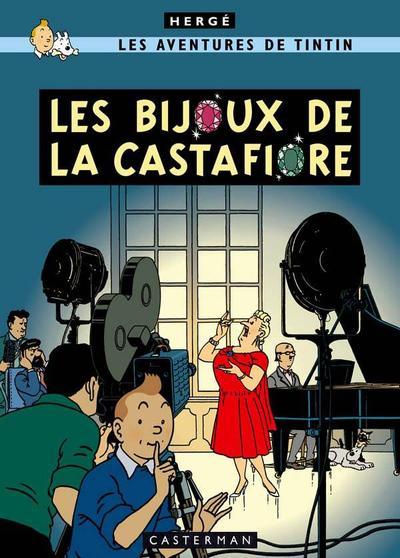 Cover for Les Aventures de Tintin (Casterman, 1934 series) #21 - Les Bijoux de la Castafiore