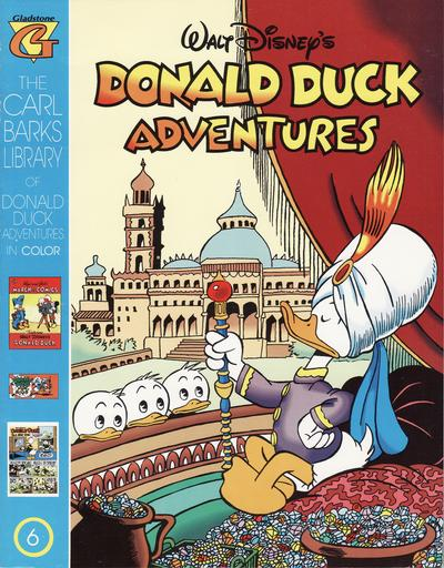Cover for Carl Barks Library of Walt Disney's Donald Duck Adventures in Color (Gladstone, 1994 series) #6