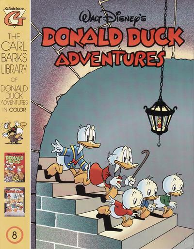 Cover for Carl Barks Library of Walt Disney's Donald Duck Adventures in Color (Gladstone, 1994 series) #8