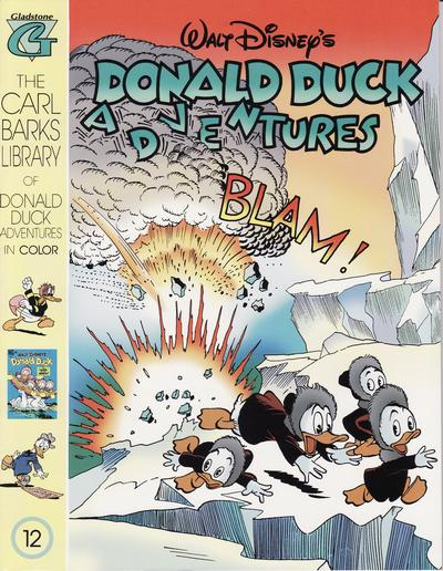 Cover for Carl Barks Library of Walt Disney's Donald Duck Adventures in Color (Gladstone, 1994 series) #12