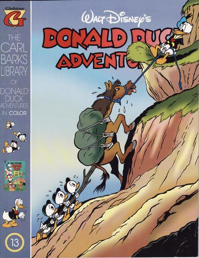 Cover for Carl Barks Library of Walt Disney's Donald Duck Adventures in Color (Gladstone, 1994 series) #13
