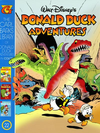 Cover for Carl Barks Library of Walt Disney's Donald Duck Adventures in Color (Gladstone, 1994 series) #22