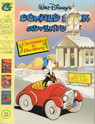Cover for Carl Barks Library of Walt Disney's Donald Duck Adventures in Color (Gladstone, 1994 series) #23