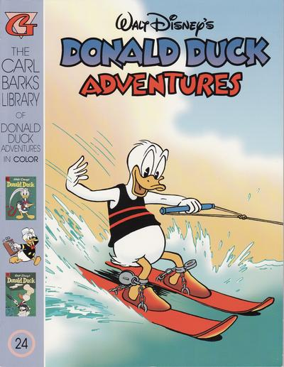 Cover for Carl Barks Library of Walt Disney's Donald Duck Adventures in Color (Gladstone, 1994 series) #24