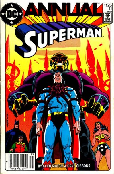 Cover for Superman Annual (DC, 1960 series) #11 [Direct Sales]