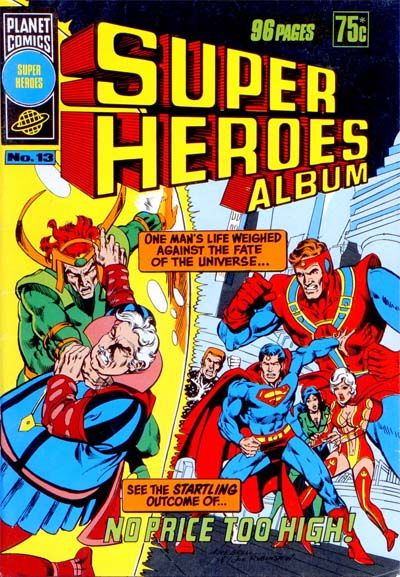 Cover for Super Heroes Album (K. G. Murray, 1976 series) #13