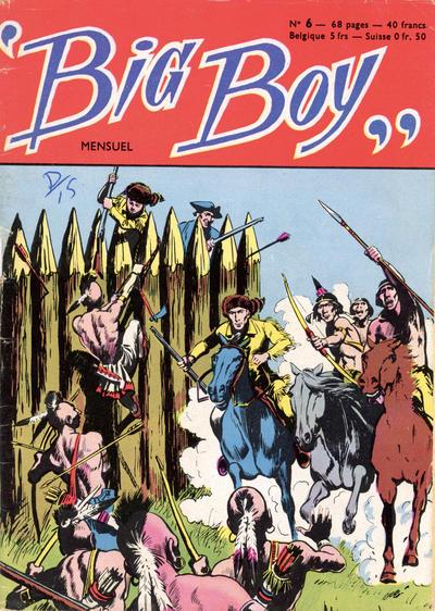 Cover for Big Boy (Arédit-Artima, 1956 series) #6