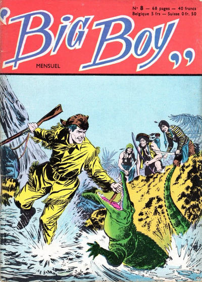 Cover for Big Boy (Arédit-Artima, 1956 series) #8