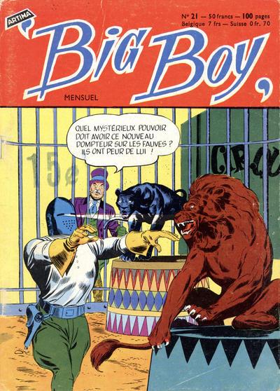 Cover for Big Boy (Arédit-Artima, 1956 series) #21