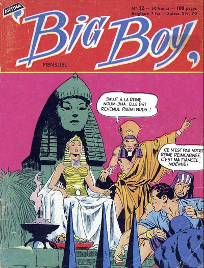 Cover for Big Boy (Arédit-Artima, 1956 series) #22