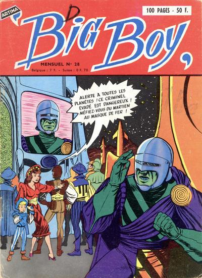 Cover for Big Boy (Arédit-Artima, 1956 series) #28