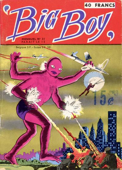 Cover for Big Boy (Arédit-Artima, 1956 series) #31
