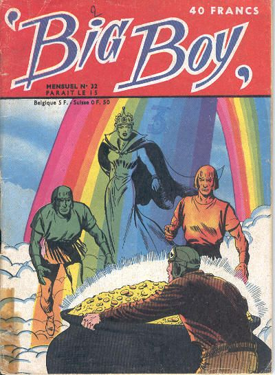 Cover for Big Boy (Arédit-Artima, 1956 series) #32