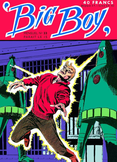 Cover for Big Boy (Arédit-Artima, 1956 series) #33