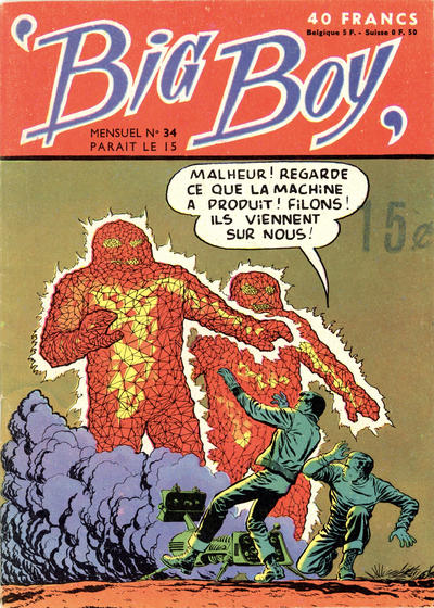 Cover for Big Boy (Arédit-Artima, 1956 series) #34
