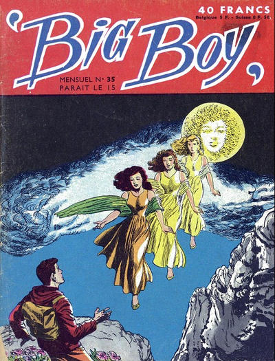 Cover for Big Boy (Arédit-Artima, 1956 series) #35