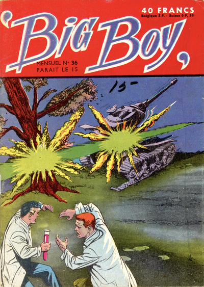 Cover for Big Boy (Arédit-Artima, 1956 series) #36