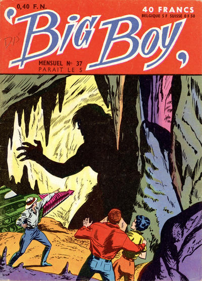 Cover for Big Boy (Arédit-Artima, 1956 series) #37