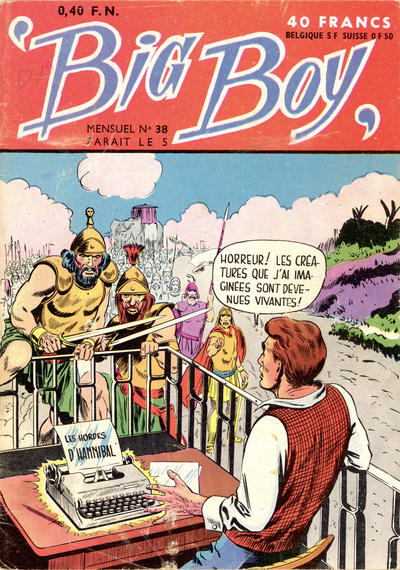 Cover for Big Boy (Arédit-Artima, 1956 series) #38