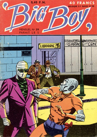 Cover for Big Boy (Arédit-Artima, 1956 series) #39
