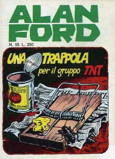 Cover for Alan Ford (Editoriale Corno, 1969 series) #55