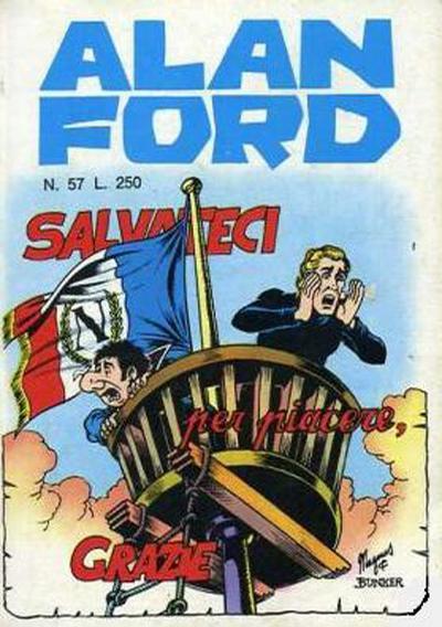 Cover for Alan Ford (Editoriale Corno, 1969 series) #57
