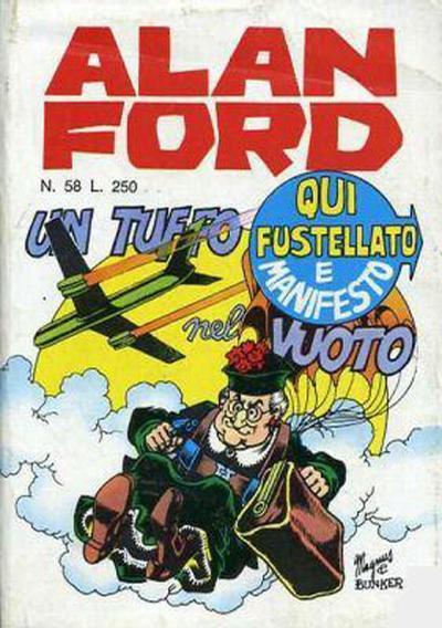 Cover for Alan Ford (Editoriale Corno, 1969 series) #58
