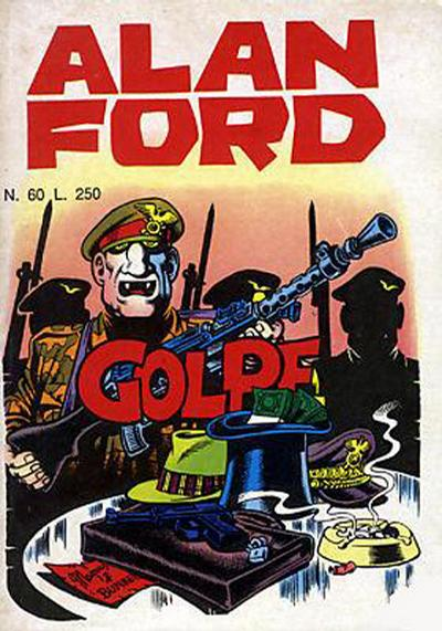 Cover for Alan Ford (Editoriale Corno, 1969 series) #60