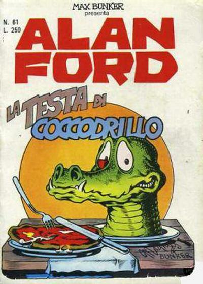 Cover for Alan Ford (Editoriale Corno, 1969 series) #61
