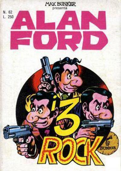 Cover for Alan Ford (Editoriale Corno, 1969 series) #62