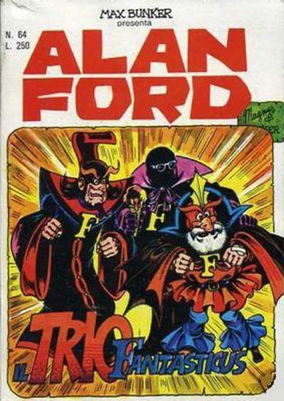 Cover for Alan Ford (Editoriale Corno, 1969 series) #64